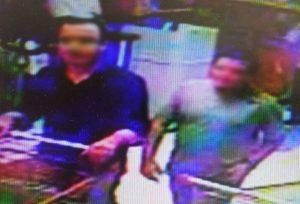 Duas horas após o assalto, os suspeitos foram fazer compras em um supermercado de Santana do Livramento (Foto: Divulgação)
